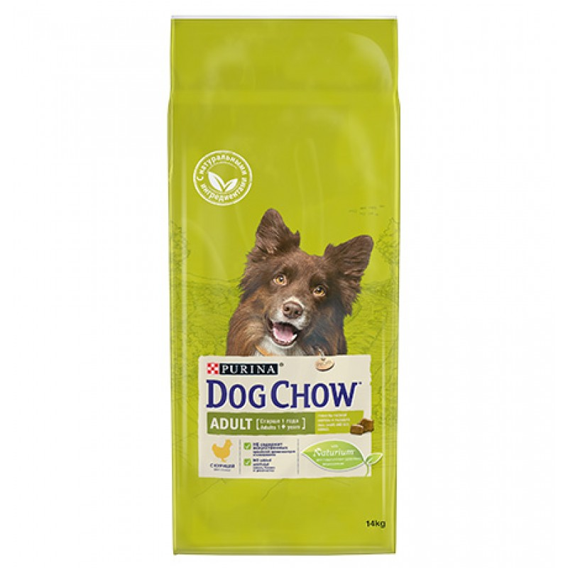 Purina Dog Chow Adult Chicken / Сухой корм Пурина Дог Чау для взрослых собак Курица